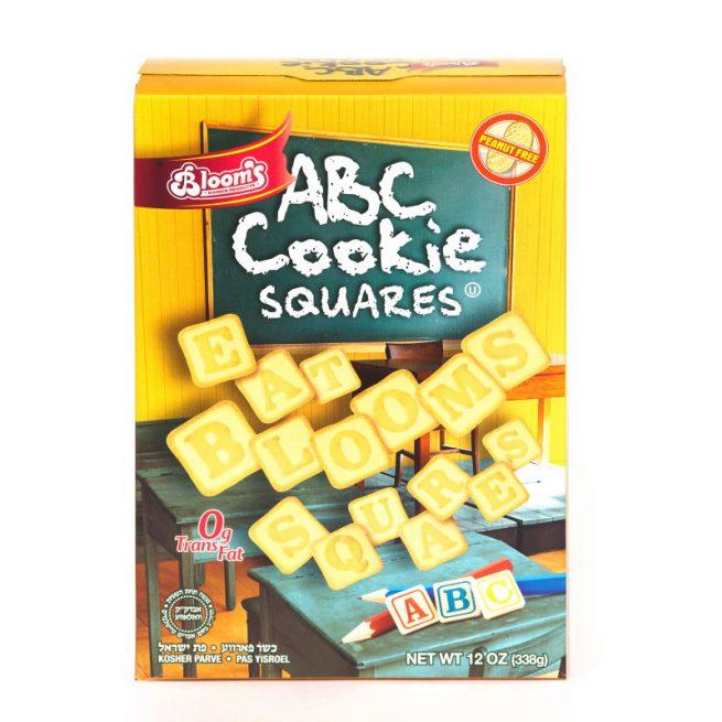 ABC Cookie Squares