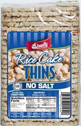 Rice Cake Thins N/S