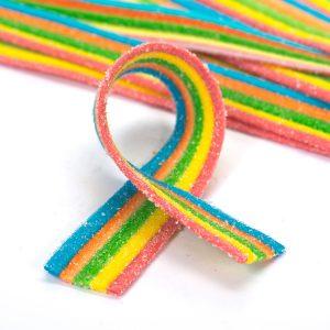 Rainbow Sour Belts Bulk