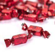 Zaza Foil (red) Sour Strawberry Chewy Bulk