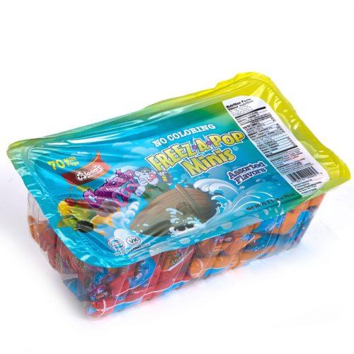 Mini Freeze Pop No Color 70 ct Captain Cool
