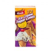Ice Cream Sugar Cones 12 ct