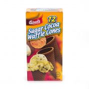 Ice Cream Sugar Cocoa Cones