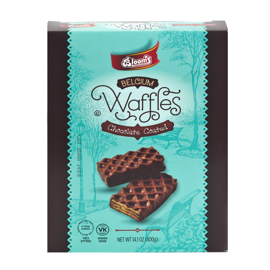 Choc. Coated Belgium Waffles 400g Box