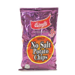 5 oz Potato Chips No Salt