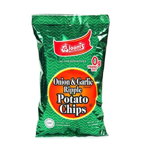 5 oz Potato Chips Onion Garlic