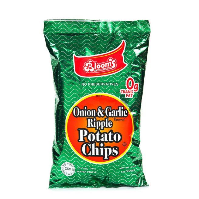 5 oz Potato Chips Onion Garlic