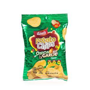 3/4 oz Potato Chips / Onion Garlic