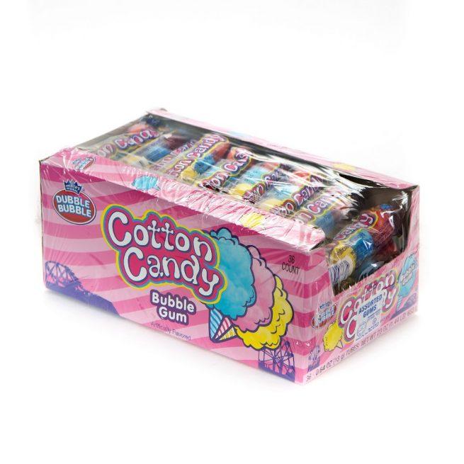 Dubble Bubble Cotton Candy 4 Ball Gum
