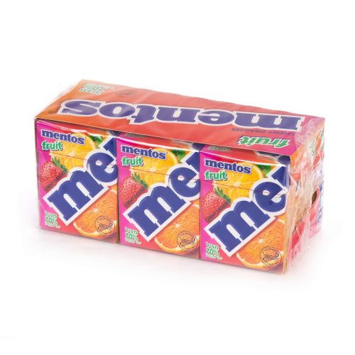 Mentos  Fruit XXL 9 HP