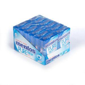 Mento S/F Pure Fresh Mint Gum 12pc