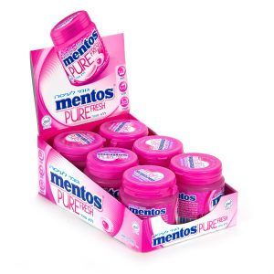 Mentos Gum Mint Fruit Lg