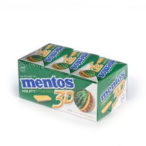 Mento 3D Gum Watermelon/Pineapple/Melon