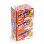 Mento 3D Gum Lemon/Grapefruit/Orange