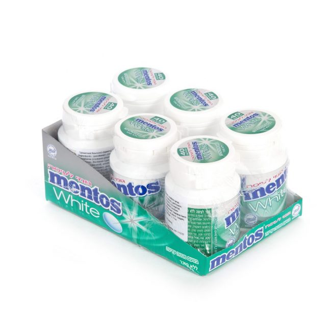 Mentos Gum White Spearmint 40 pc