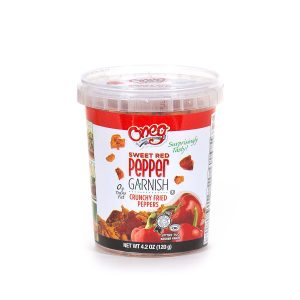 Crunchy Fried Red Peppers 4.2 oz (120g)