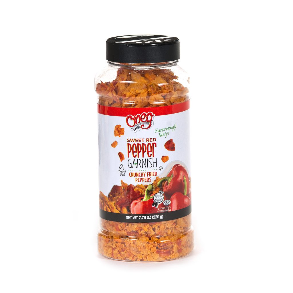Crunchy Fried Red Peppers 7.76 oz (220g)
