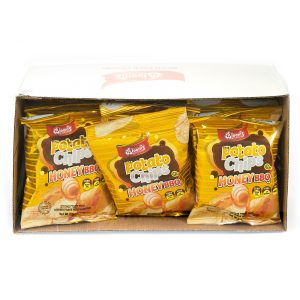 12 pk Potato Chips Honey BBQ (Pass)