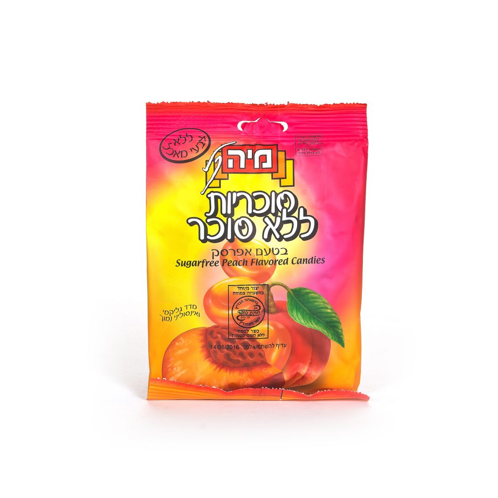 Maya Sugarfree Peach (p)
