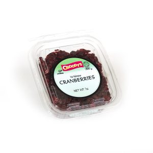 Cranberries (pass)
