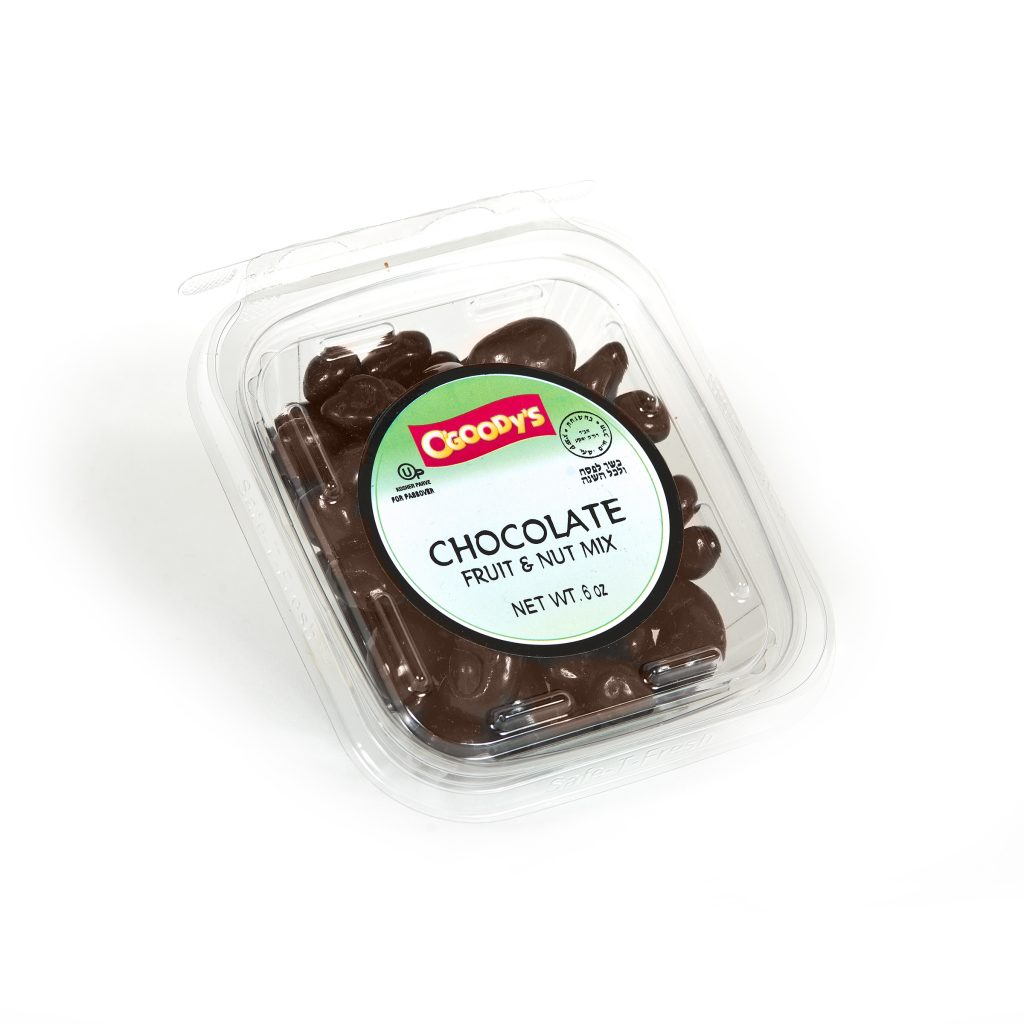 Chocolate Fruit & Nut Mix (pass) 6 oz