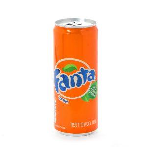 Can Fanta Soda SLICK