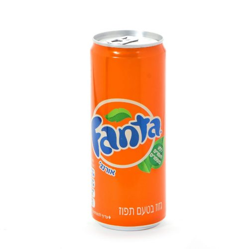 Can Fanta Soda SLICK