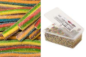 Sour Filled Bars 6 Color