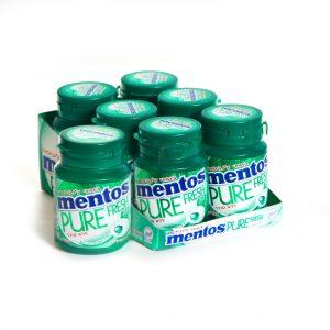 Mento S/F Pure Fresh Spearmint Gum 30pc