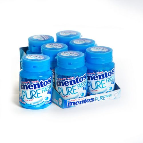 Mento S/F Pure Fresh Mint Gum 30pc