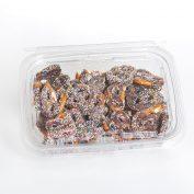 Chocolate Mini Pretzels Nonpareils