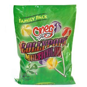 Lollypops / Multicolr Fam Pk 24 oz (P)