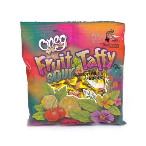Fruit Taffys/Sour 7oz (P)