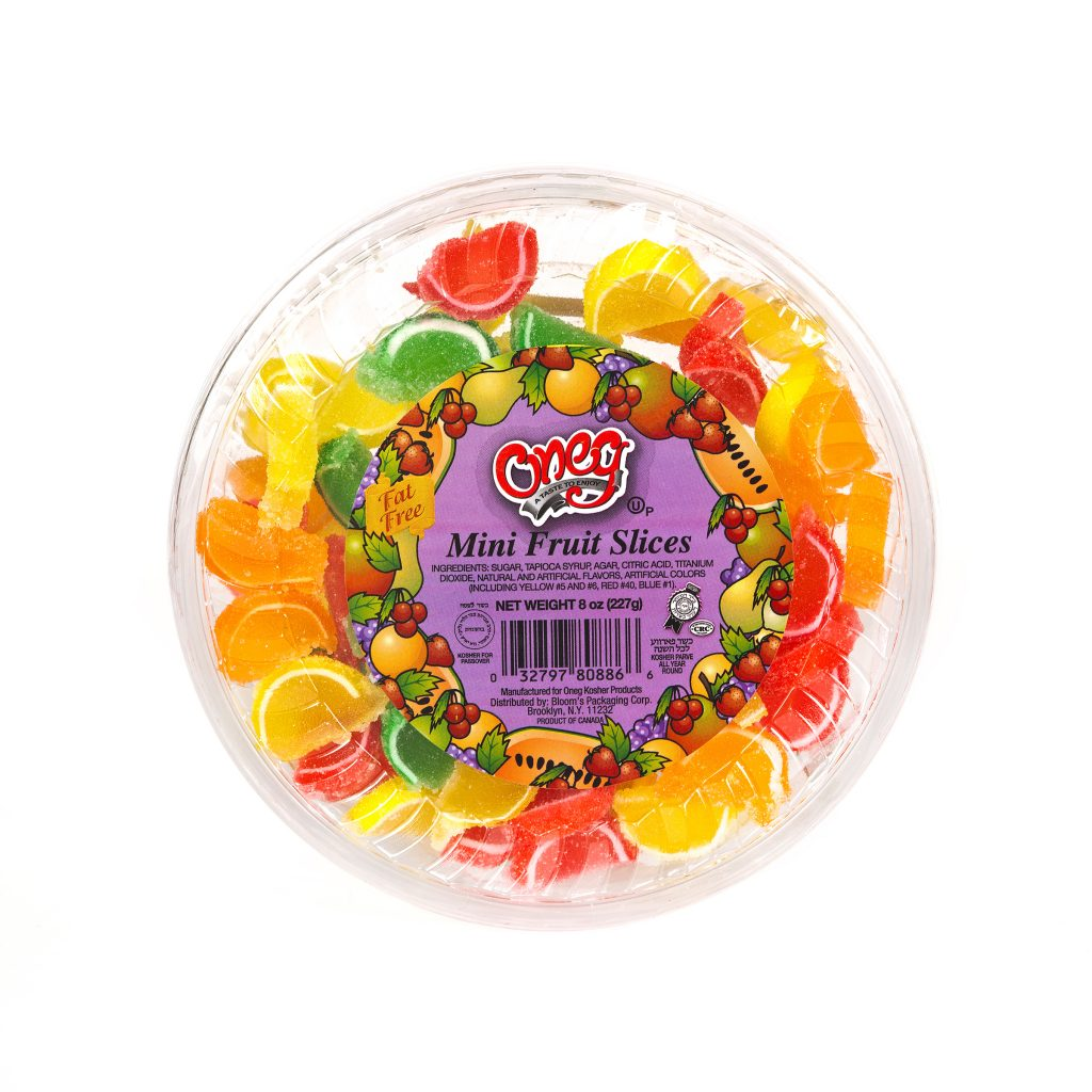 Jelly Mini Fruit Slices Half Moon (P)