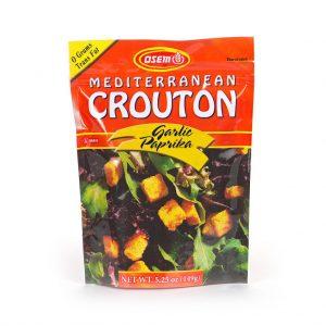 Garlic Paprika Crouton