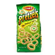 Sesame Pretzel Rings