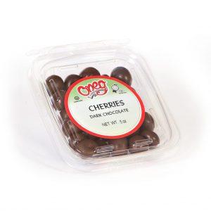 Chocolate coated Dark Cherries