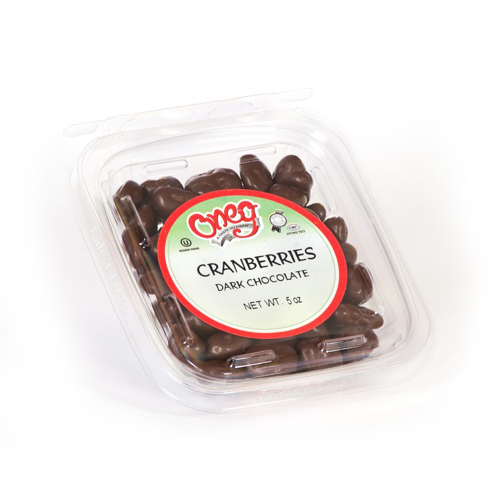 Chocolate coated Dark Cranberries