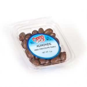 Chocolate coated Milk Almonds (D)