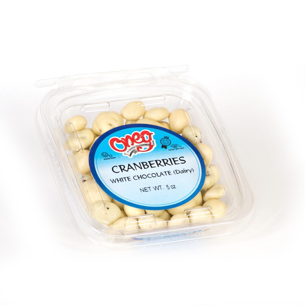 Chocolate coated White Cranberries (D)