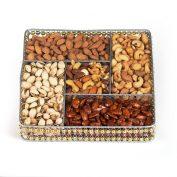 Squar Wire Medium Nut Platter (CRC)