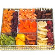 Squar Wire Large Fruit Platter (CRC)