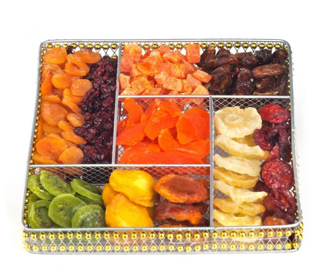 Squar Wire Large Fruit Platter (CRC)