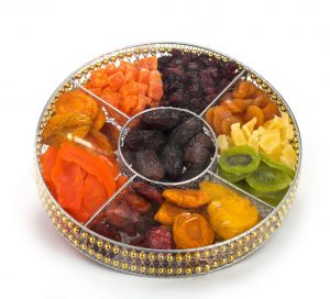 Round Wire Large Fruit Platter (CRC)