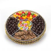 Round Wire Medium Chocolate Platter (CRC)