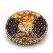 Round Wire Medium Chocolate Platter (CRC)