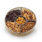 Round Wire Medium Nut Platter (CRC)