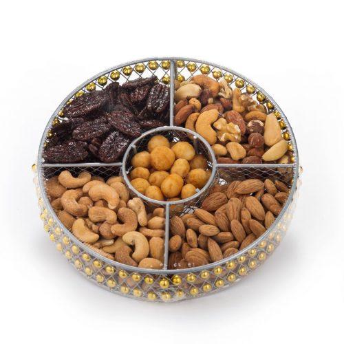 Round Wire Medium Nut Platter (CRC)