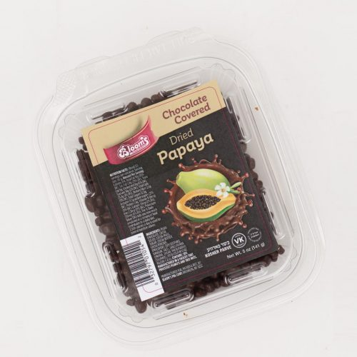 Chocolate Covered Dried Papaya