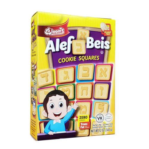 Alef Beis Cookies Squares